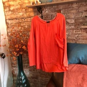 Anthropologie Dolan High Low T Shirt Top